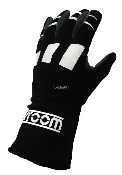Guantes  Vroom.  Negro M  Especiales La