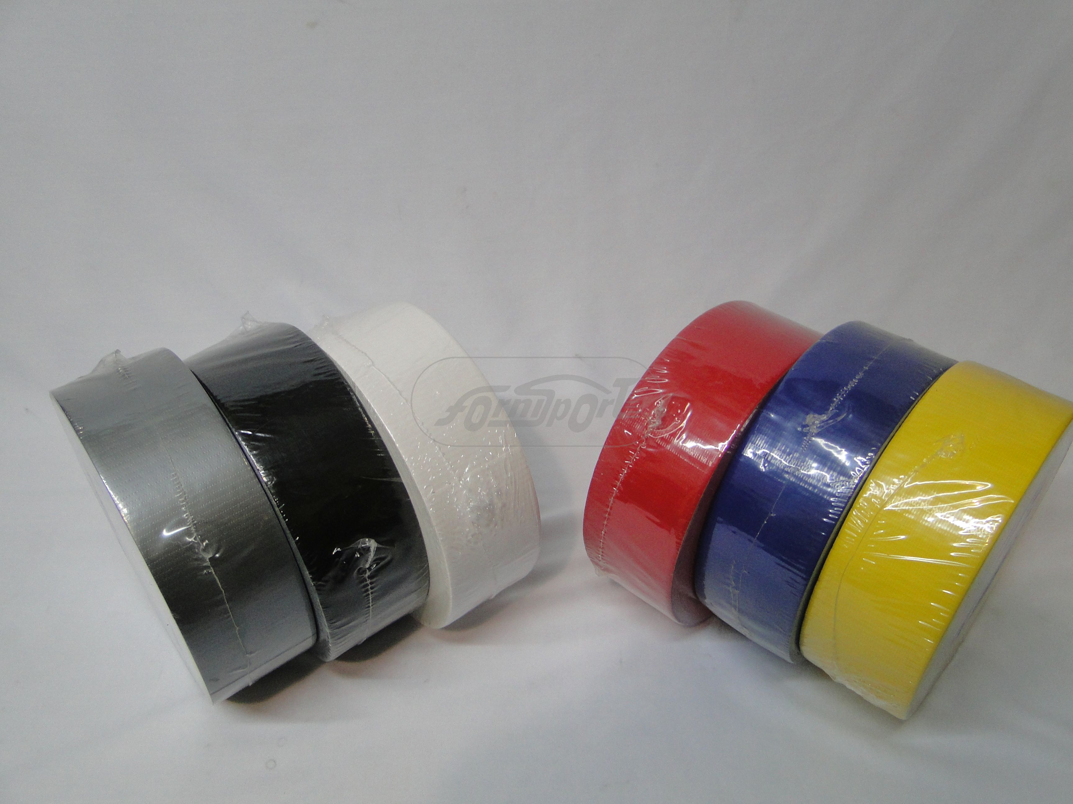 Cinta Duc Tape  COLOR ROJO - 50 Mts.*