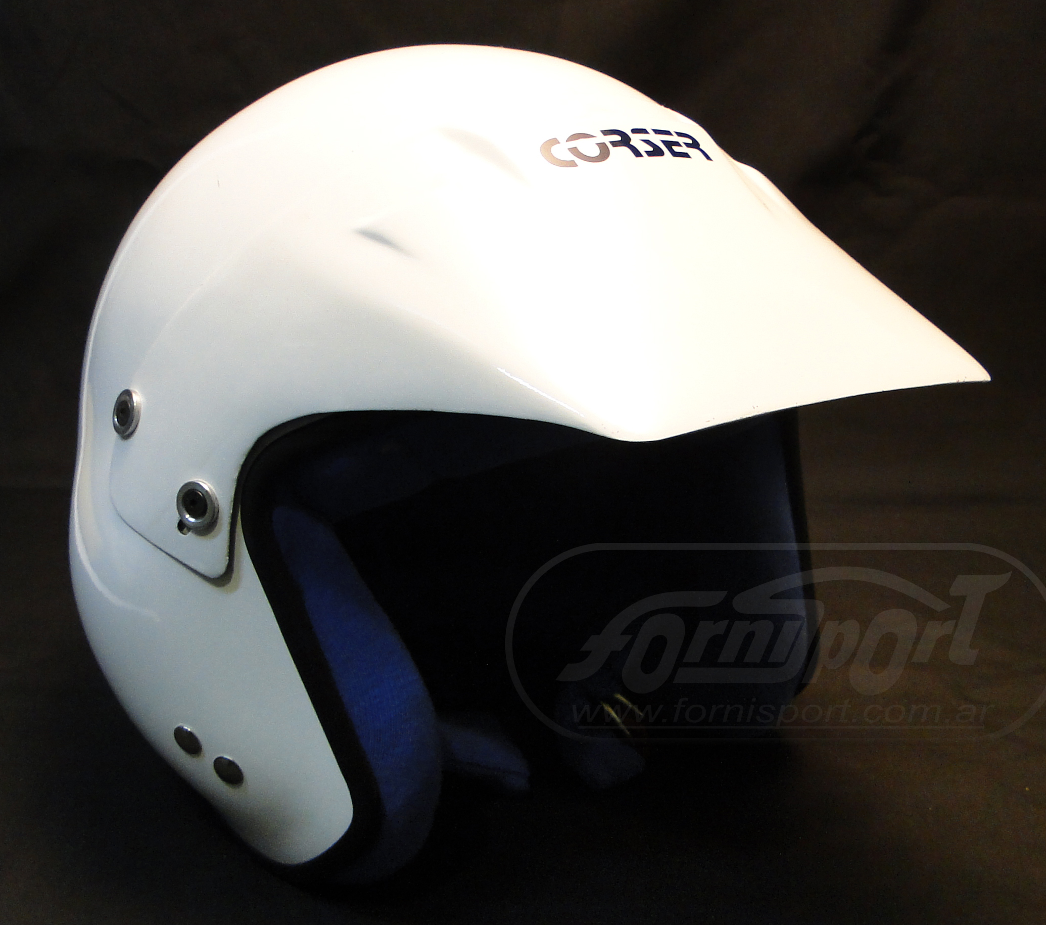 Casco Rally  Corser  P/ Intercom T58 SA Rally p/Intercom