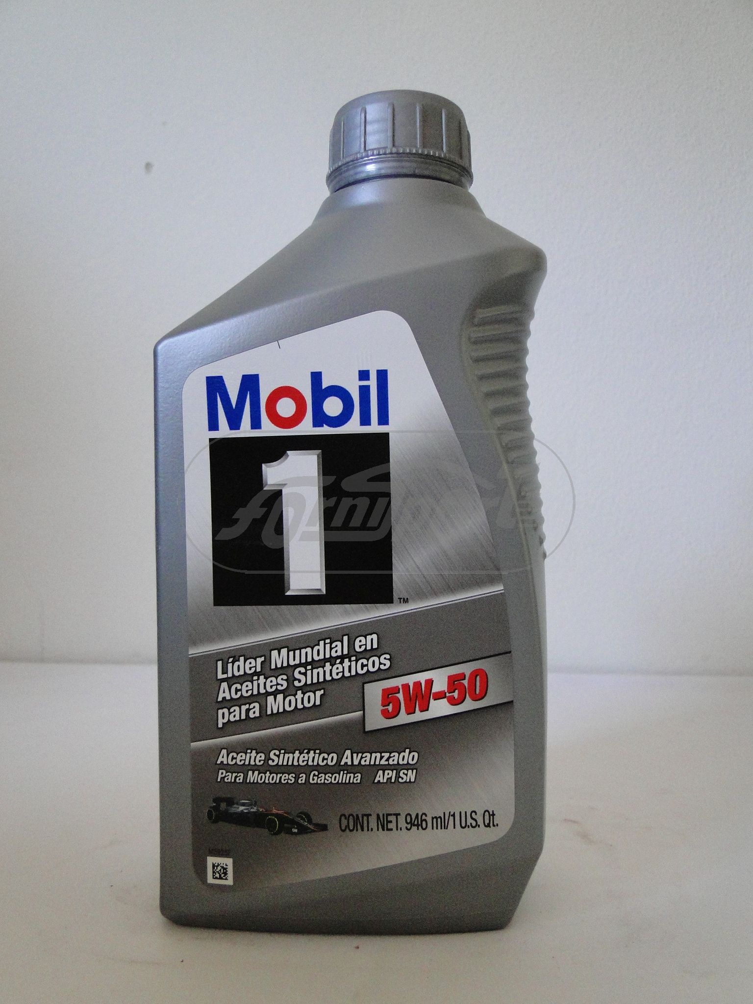 Aceite motor MOVIL1  5W50 (x quart) Comp.Sintetico